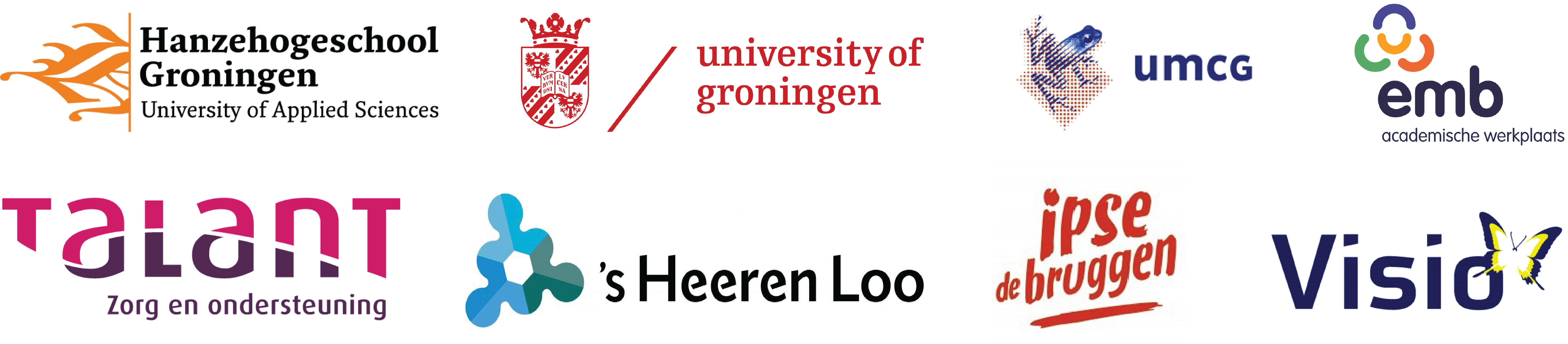 Logo's Betrokken Organisaties